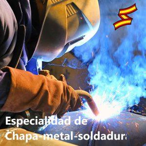 Oficiales de Arsenales: especialidad de chapa-metal-soldadura