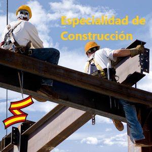 Oficiales de Arsenales: especialidad de construcción (programa 1)