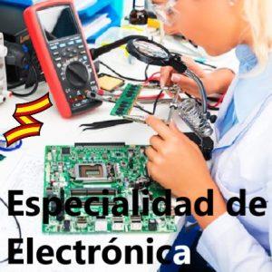 Oficiales de Arsenales: especialidad de electrónica