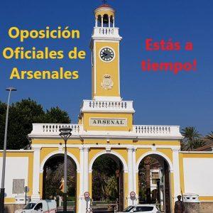 Plazas oficiales de arsenales 2020